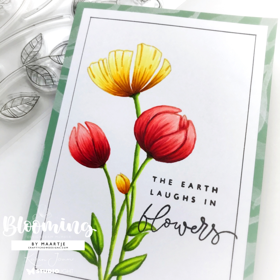 Studio Light Karin Joan Blooming Collection Clear Stamps STAMPKJ02 이미지 검색결과